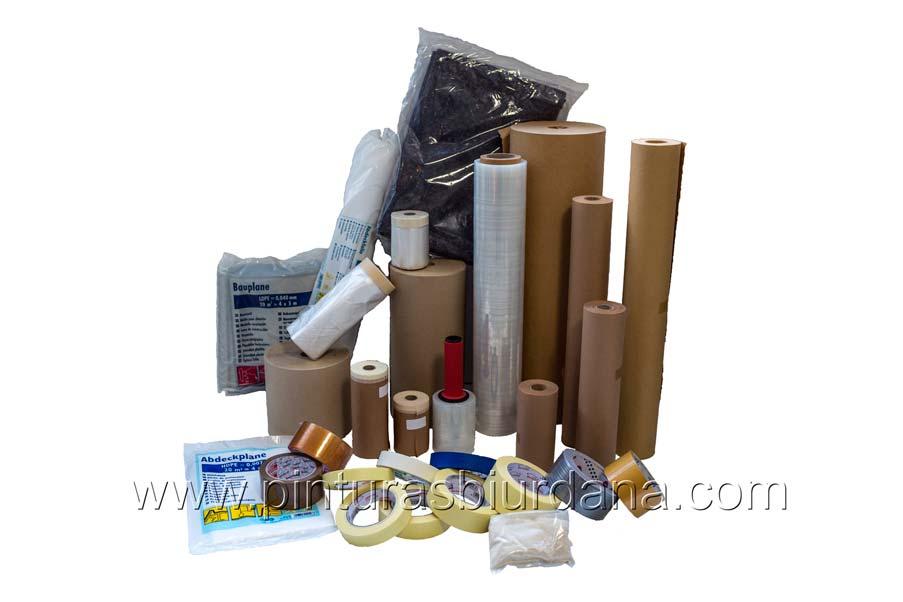 productos varios cartón cinta papel