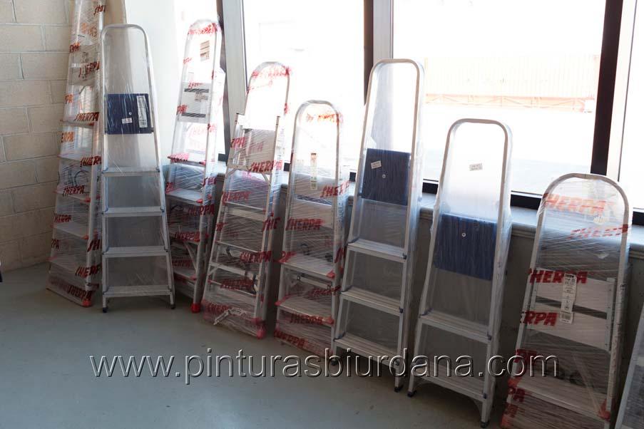 Escaleras aluminio Sherpa