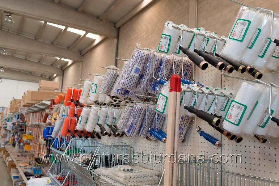 Colección de rodillos lana antigota