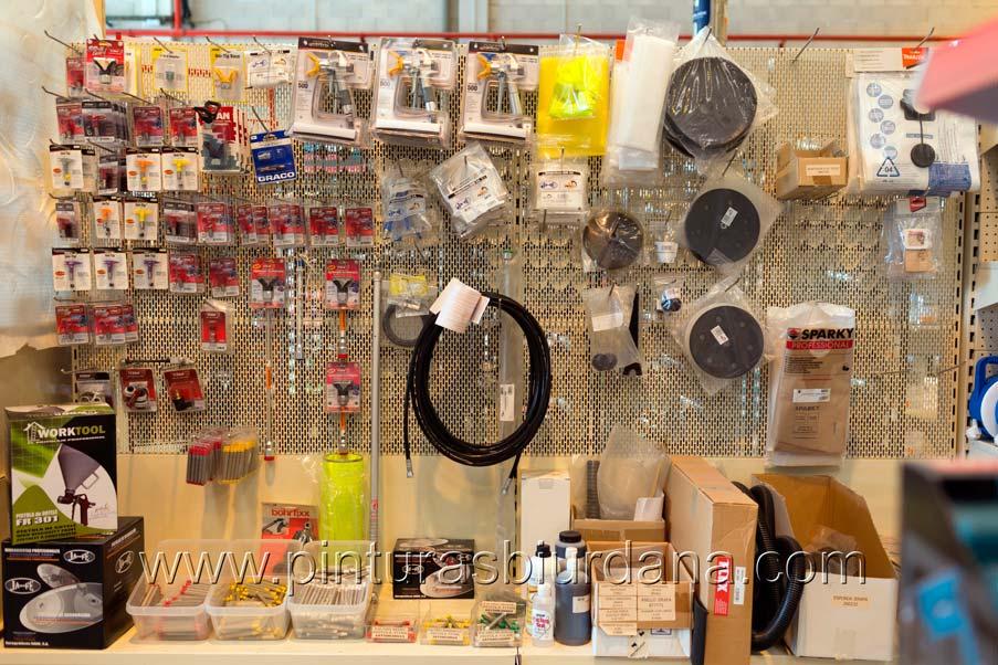 Repuestos y accesorios airless