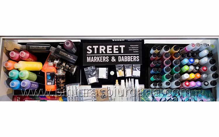rotuladores Street-markerss Biurdana